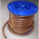 Omega staple coil
