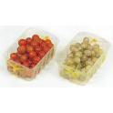 Malla para fruta en cestas o bandejas