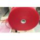 Flat tubular mesh bag making